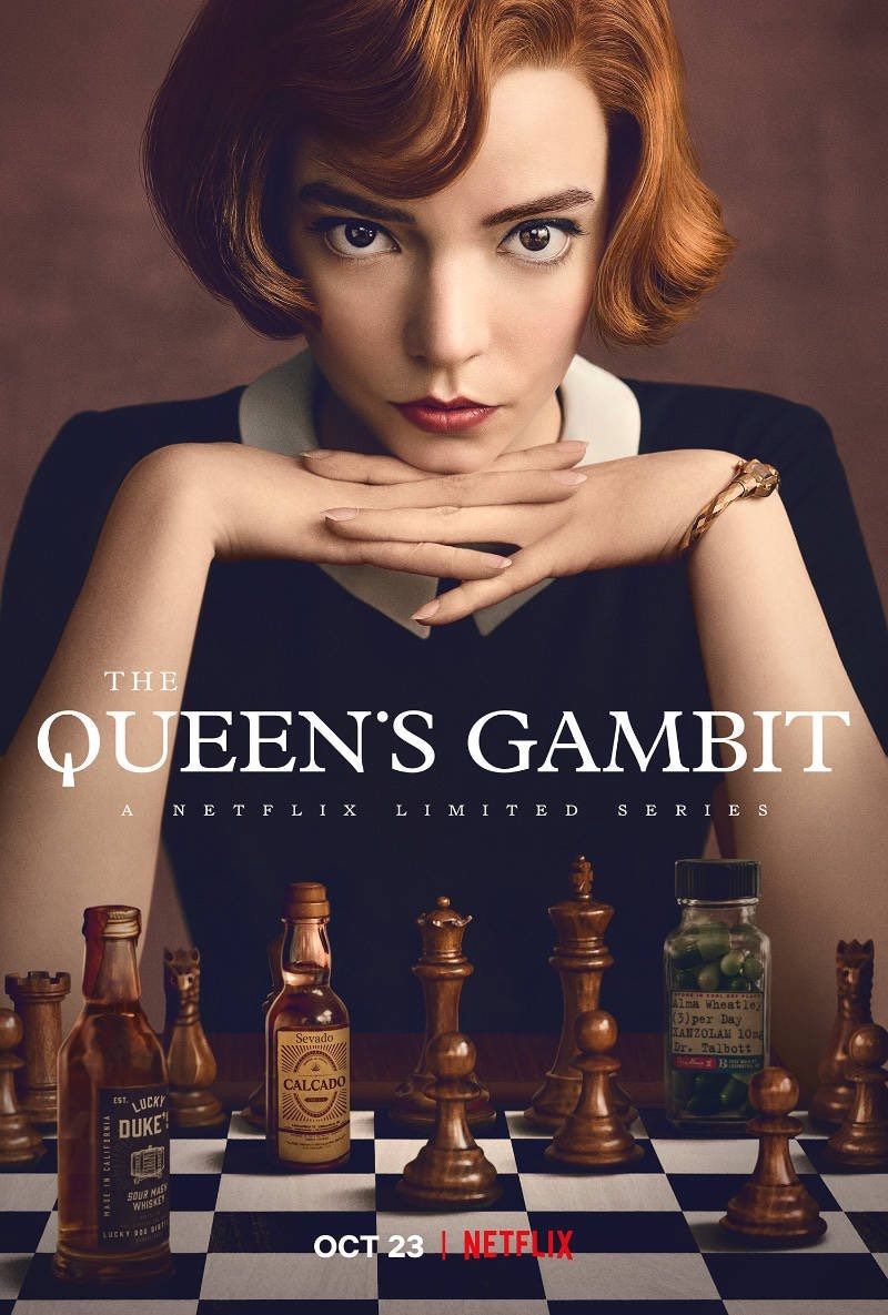 "Perché guardare ""La regina degli scacchi"" (Netflix) / Review of ""The  Queen's gambit"" (Netflix) – The Mantovanis Blog"